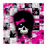 Scene Kid Girl Skull Medium Glasses Cloth (2 Sides)