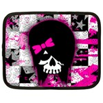 Scene Kid Girl Skull Netbook Case (Large)