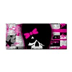 Scene Kid Girl Skull Hand Towel