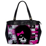 Scene Kid Girl Skull Oversize Office Handbag