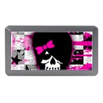 Scene Kid Girl Skull Memory Card Reader (Mini)