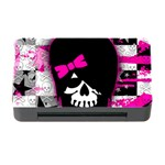Scene Kid Girl Skull Memory Card Reader with CF