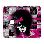 Scene Kid Girl Skull Samsung Galaxy S  III Flip 360 Case