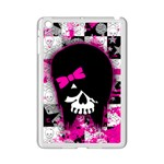 Scene Kid Girl Skull Apple iPad Mini 2 Case (White)