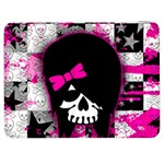 Scene Kid Girl Skull Samsung Galaxy Tab 7  P1000 Flip Case