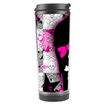 Scene Kid Girl Skull Travel Tumbler