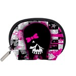 Scene Kid Girl Skull Accessory Pouch (Small)