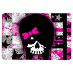 Scene Kid Girl Skull Apple iPad Air Flip Case