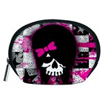 Scene Kid Girl Skull Accessory Pouch (Medium)