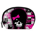 Scene Kid Girl Skull Accessory Pouch (Large)
