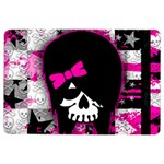 Scene Kid Girl Skull Apple iPad Air 2 Flip Case