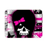 Scene Kid Girl Skull Double Sided Flano Blanket (Mini)