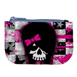 Scene Kid Girl Skull Large Coin Purse