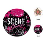 Scene Queen Playing Cards Single Design (Round)