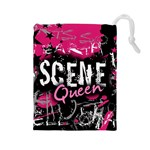 Scene Queen Drawstring Pouch (Large)