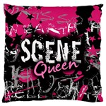 Scene Queen Large Flano Cushion Case (One Side)