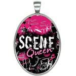 Scene Queen Oval Necklace