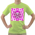 Skull Princess Green T-Shirt