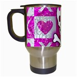 Skull Princess Travel Mug (White)