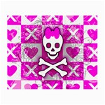 Skull Princess Small Glasses Cloth