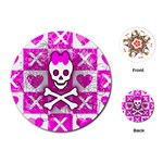 Skull Princess Playing Cards Single Design (Round)