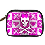 Skull Princess Digital Camera Leather Case