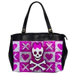 Skull Princess Oversize Office Handbag