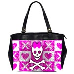Skull Princess Oversize Office Handbag (2 Sides)