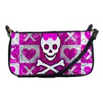 Skull Princess Shoulder Clutch Bag