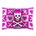 Skull Princess Pillow Case (Two Sides)