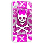 Skull Princess iPhone 4/4s Seamless Case (White)