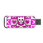 Skull Princess Portable USB Flash (One Side)