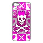 Skull Princess iPhone 5 Case (Silver)