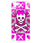 Skull Princess iPhone 5 Seamless Case (White)