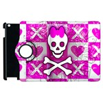 Skull Princess Apple iPad 2 Flip 360 Case