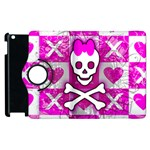 Skull Princess Apple iPad 3/4 Flip 360 Case