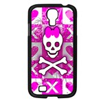 Skull Princess Samsung Galaxy S4 I9500/ I9505 Case (Black)