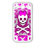 Skull Princess Samsung Galaxy S3 Back Case (White)