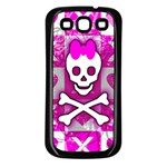 Skull Princess Samsung Galaxy S3 Back Case (Black)