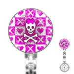 Skull Princess Stainless Steel Nurses Watch
