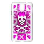Skull Princess Samsung Galaxy Note 3 N9005 Case (White)