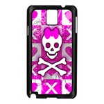 Skull Princess Samsung Galaxy Note 3 N9005 Case (Black)