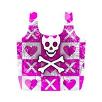 Skull Princess Full Print Recycle Bag (M)