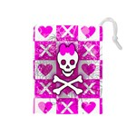 Skull Princess Drawstring Pouch (Medium)