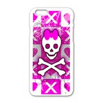 Skull Princess iPhone 6/6S White Enamel Case