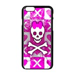 Skull Princess iPhone 6/6S Black Enamel Case