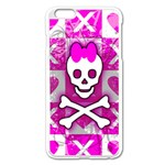 Skull Princess iPhone 6 Plus/6S Plus Enamel White Case