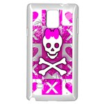 Skull Princess Samsung Galaxy Note 4 Case (White)