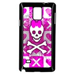 Skull Princess Samsung Galaxy Note 4 Case (Black)