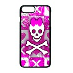 Skull Princess iPhone 7 Plus Seamless Case (Black)